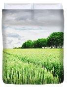 Summer Grains Duvet Cover