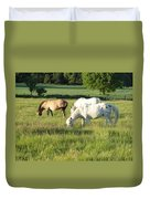 Summer Grazing Duvet Cover