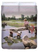 Summer Duvet Cover by Gunnar Berndtson