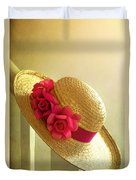 Summer Hat Duvet Cover