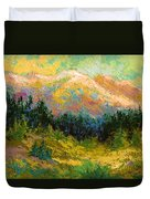 Summer High Country Duvet Cover