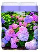 Summer Hydrangeas #2 Duvet Cover
