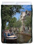 Summer In Amsterdam-1 Duvet Cover