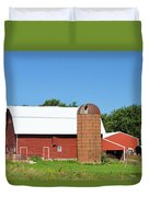 Summer In Iowa Duvet Cover