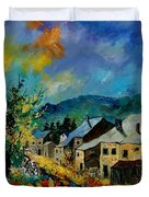 Summer In Mogimont Duvet Cover