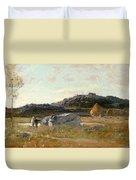 Summer Landscape Duvet Cover by Luigi Loir