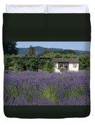 Summer Lavender Duvet Cover