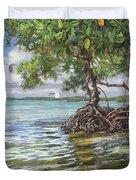 Summer Mangrove Melody Duvet Cover