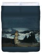 Summer Night Duvet Cover by Winslow Homer