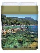 Summer Paddle Duvet Cover