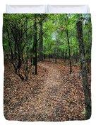 Summer Path At Shiloh Duvet Cover