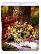 Summer Picnic Duvet Cover
