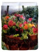 Summer Picture Window Duvet Cover