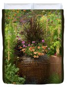 Summer Pot Duvet Cover
