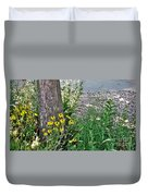 Summer River Bank View             July            Indiana Duvet Cover