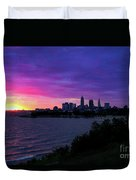 Summer Solstice Sunrise Duvet Cover