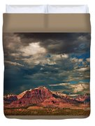 Summer Storm Zion National Park Utah Duvet Cover