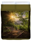 Summer Sunrise Duvet Cover