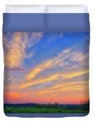 Retzer Nature Center - Summer Sunset #2  Duvet Cover