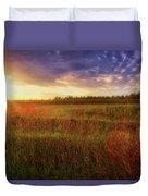 Summer Sunset - Waukesha Wisconsin  Duvet Cover