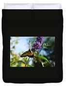 Summer Swallowtail Duvet Cover