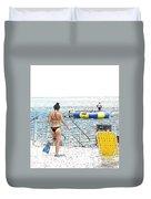 Summer Time Duvet Cover