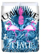 Summer Time Tropical  Duvet Cover