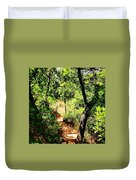 Summer Trail  Duvet Cover