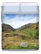 Summer, Watendlath Valley, Lake District National Park, Cumbria Duvet Cover