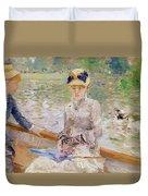 Summers Day Duvet Cover by Berthe Morisot