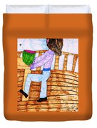 Summers Lunch Duvet Cover
