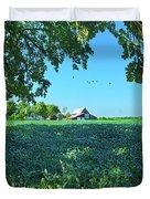 Summertime Blues Duvet Cover