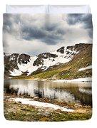 Summit Lake Study 3 Duvet Cover