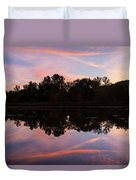 Summit Lake Sunset I  Duvet Cover