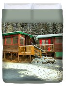 Sun After The Storm At Beauty Creek Duvet Cover
