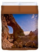 Sun And Arch Duvet Cover