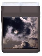 Sun And Clouds Duvet Cover