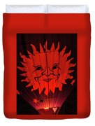Sun And Fire Duvet Cover