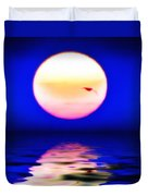 Sun And Water Duvet Cover