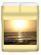Sun At Sea Duvet Cover
