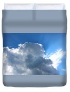 Sun Behind The Clouds 4 Duvet Cover