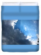 Sun Behind The Clouds 7 Duvet Cover
