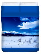 Sun Break On The Lake Duvet Cover