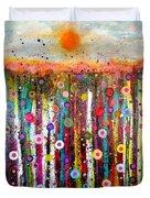 Sun Bursts Duvet Cover