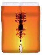 Sun Crown Light Two  Duvet Cover