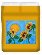 Sun Dance Duvet Cover by Sarah Loft