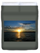 Sun Down Day Duvet Cover