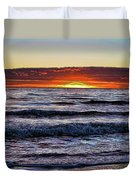 Sun-down Duvet Cover