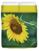 Sun Flower Drop Duvet Cover