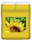 Sun Flower Floral Art Prints Sunflowers Summer Garden Duvet Cover